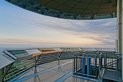Vue à 360 degrés de la tour du Gibloux
