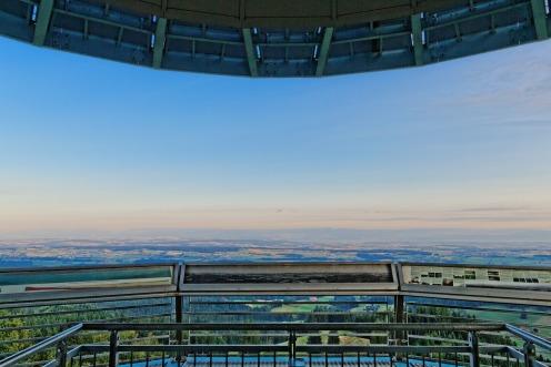 Plateforme d'observation de la tour du Gibloux