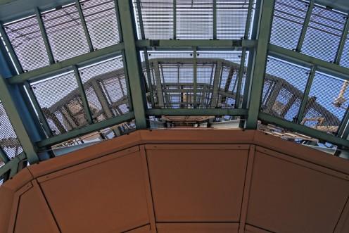 Les étages supérieurs de la tour du Gibloux
