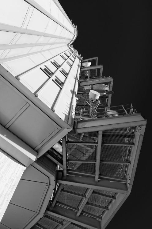 Deuxième tiers de la tour du Gibloux