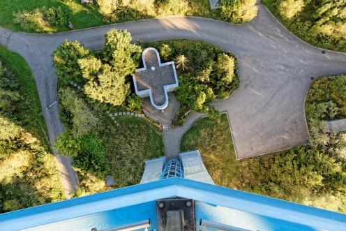 A la verticale de la tour du Gibloux