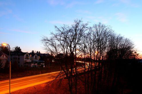route-glane-matin